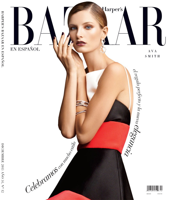 HARPER'S BAZAAR MEXICO- Ava Smith by Blossom Berkofsky. Nick Nelson, December 2013, www.imageamplified.com, image Amplified (1)