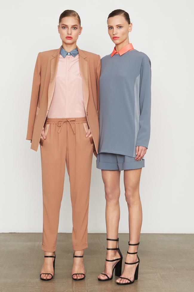 COLLECTION- MIla Krasnoiarova & Svetlana Zakharova for DKNY Pre-Fall 2014. www.imageamplified.com, Image Amplified (18)
