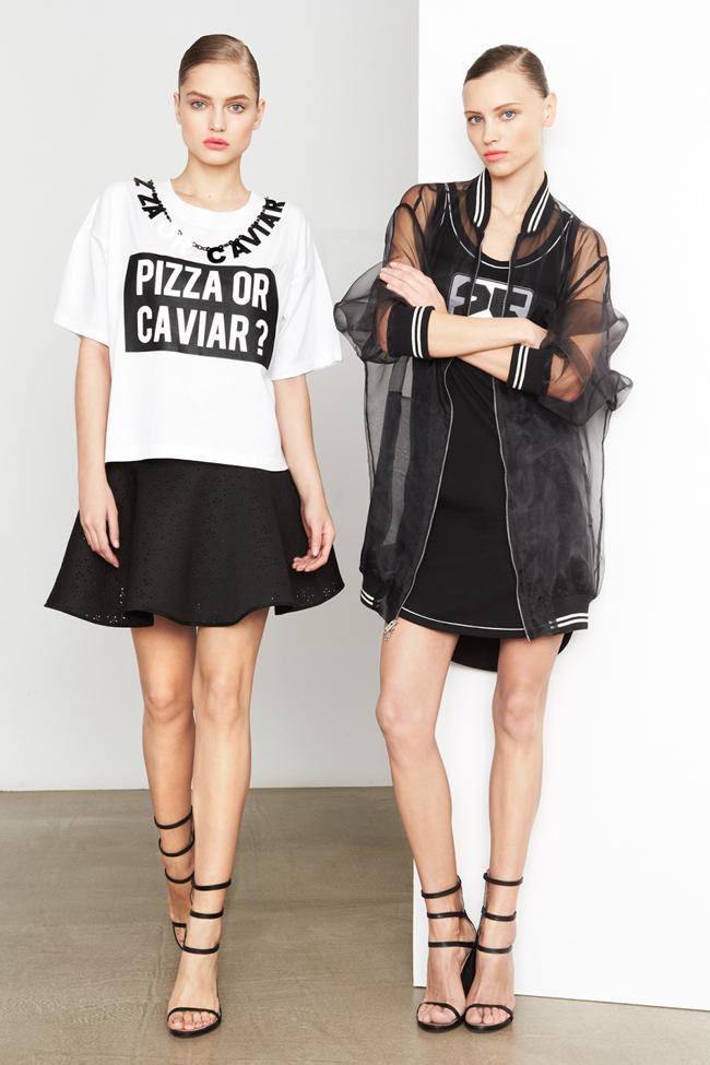 COLLECTION- MIla Krasnoiarova & Svetlana Zakharova for DKNY Pre-Fall 2014. www.imageamplified.com, Image Amplified (1)