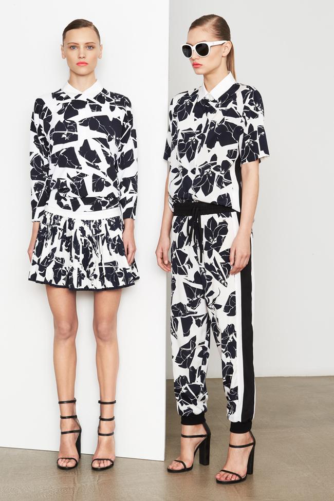 COLLECTION- MIla Krasnoiarova & Svetlana Zakharova for DKNY Pre-Fall 2014. www.imageamplified.com, Image Amplified (4)