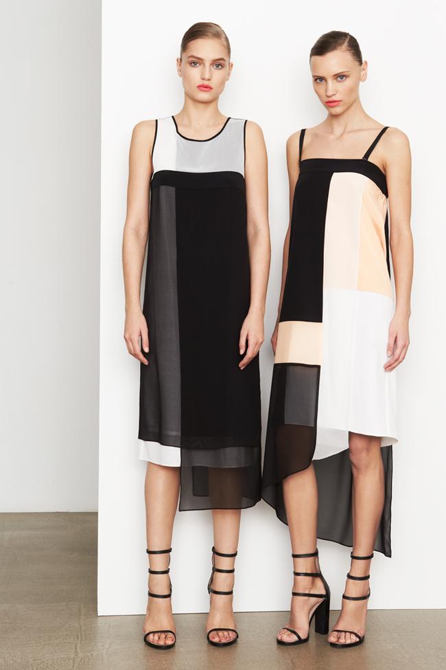 COLLECTION- MIla Krasnoiarova & Svetlana Zakharova for DKNY Pre-Fall 2014. www.imageamplified.com, Image Amplified (7)