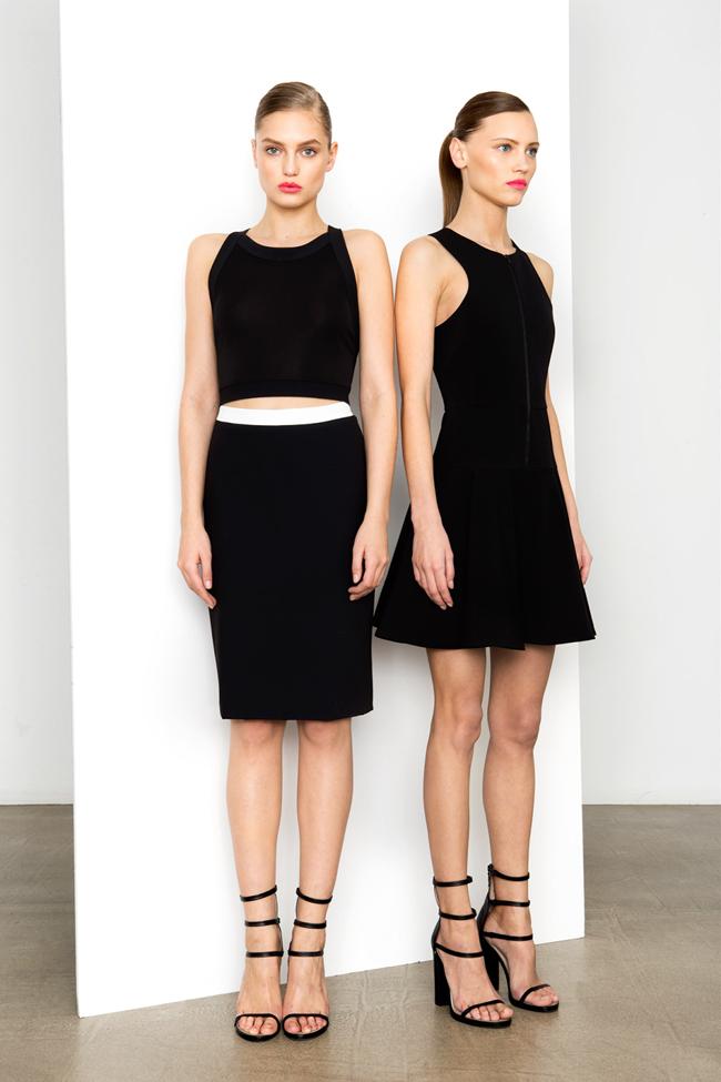 COLLECTION- MIla Krasnoiarova & Svetlana Zakharova for DKNY Pre-Fall 2014. www.imageamplified.com, Image Amplified (12)