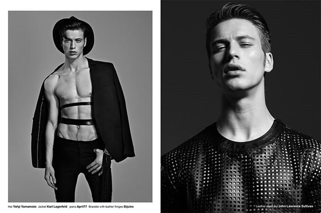FUCKING YOUNG! ONLINE- Jules Raynal & Andreas H in Black Passion by Raphael Delorme & Thierno Sy. Ayako Ijima, Fall 2013, www.imageamplified.com, Image Amplified (5)
