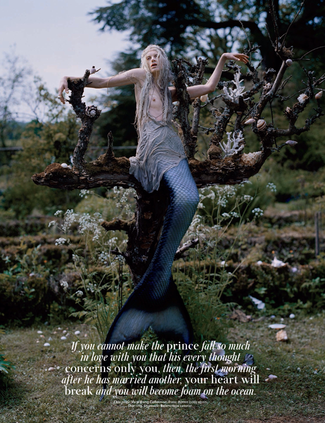 W MAGAZINE- Kristen McMenamy in Far, Far From Land by Tim Walker. Jacob K, January 2014, www.imageamplified.com, Image Amplified (2)
