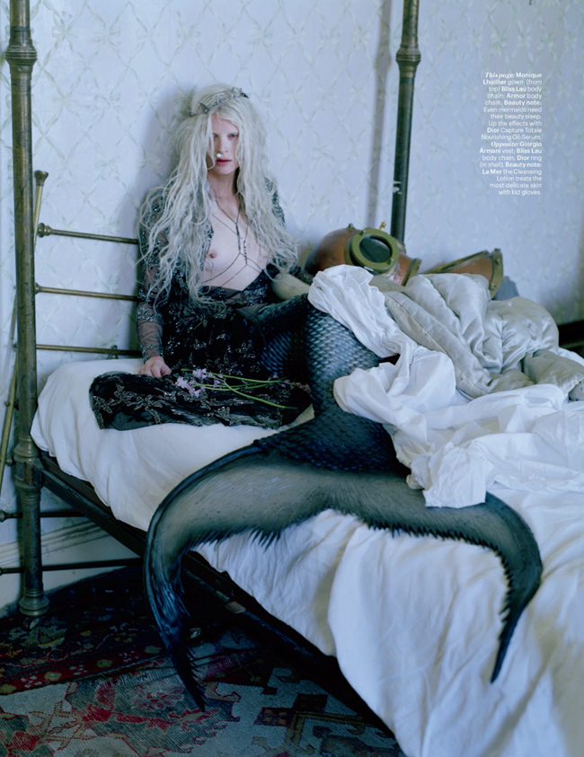 W MAGAZINE- Kristen McMenamy in Far, Far From Land by Tim Walker. Jacob K, January 2014, www.imageamplified.com, Image Amplified (7)