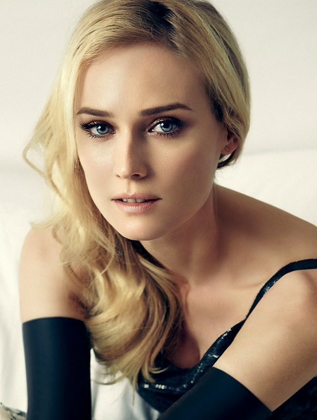 HARPER'S BAZAAR BRASIL- Diane Kruger by Fbio Bartlet. Flavia Lafer, December 2013, www.imageamplified.com, image Amplified