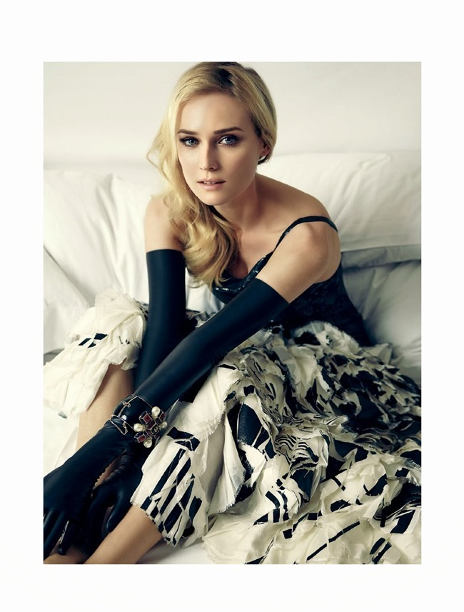 HARPER'S BAZAAR BRASIL- Diane Kruger by Fbio Bartlet. Flavia Lafer, December 2013, www.imageamplified.com, image Amplified (2)
