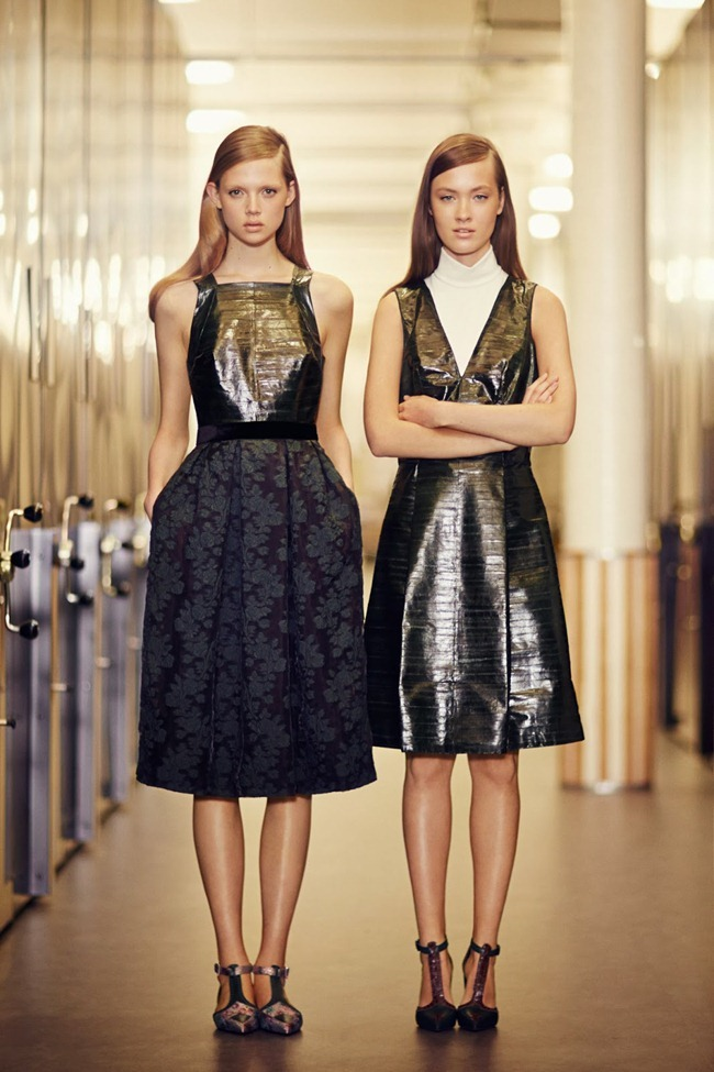 COLLECTION- Holly Rose & Maarjan Ridalaan for Erdem Pre-Fall 2014. www.imageamplified.com, Image amplified