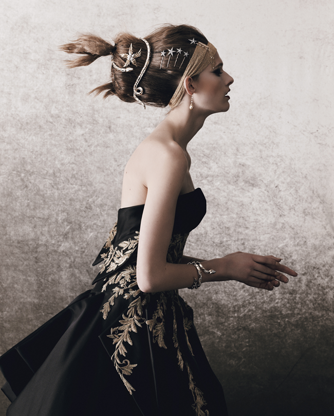 HOW TO SPEND IT MAGAZINE- Emma Oak in Jewels In The Crown by Yuvval Hen. Damian Foxe, Fall 2013, www.imageamplified.com, Image Amplified