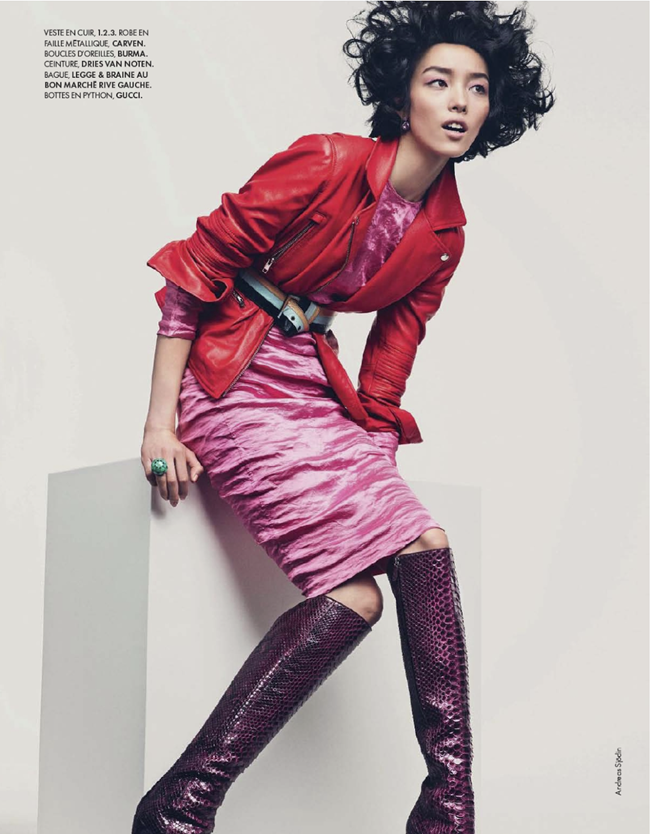 ELLE FRANCE- Fei Fei Sun in Couleurs Du Temps by Andreas Sjodin. Michele Beaurenaut, December 2013, www.imageamplified.com, Image amplified (7)