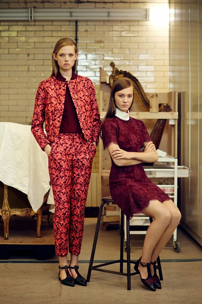 COLLECTION- Holly Rose & Maarjan Ridalaan for Erdem Pre-Fall 2014. www.imageamplified.com, Image amplified (14)