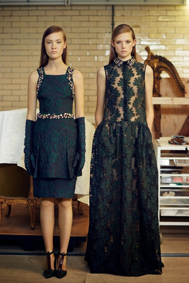 COLLECTION- Holly Rose & Maarjan Ridalaan for Erdem Pre-Fall 2014. www.imageamplified.com, Image amplified (2)