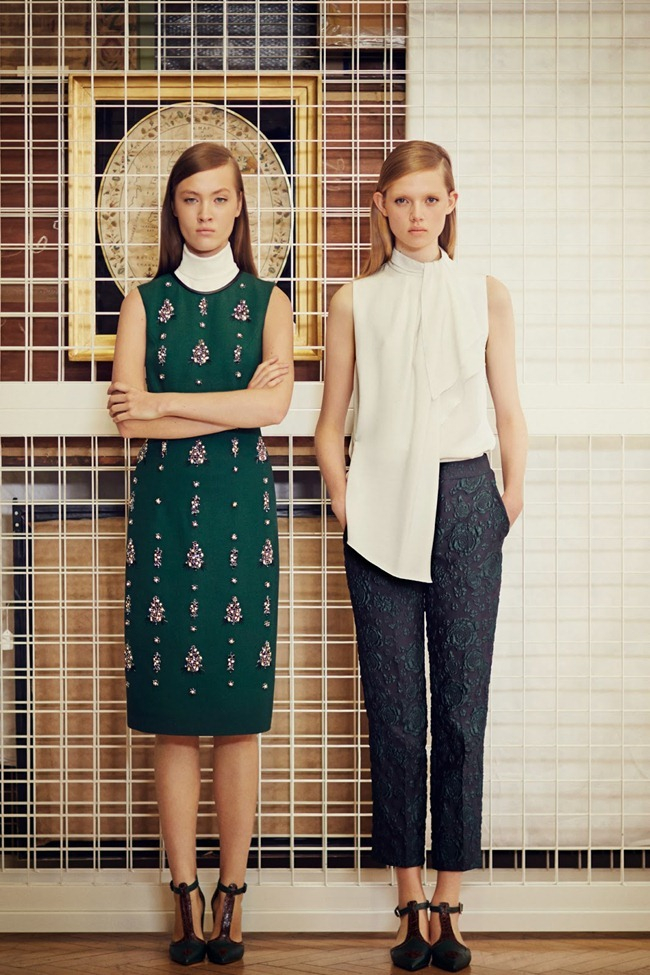 COLLECTION- Holly Rose & Maarjan Ridalaan for Erdem Pre-Fall 2014. www.imageamplified.com, Image amplified (4)