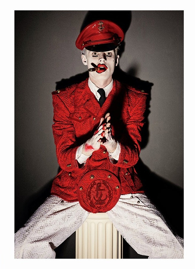 CANDY MAGAZINE- Janis Ancens in Uniform Men & Drama by Giampaolo Sgura. Yann Weber, Spring 2014, www.imageamplified.com, Image Amplified (4)