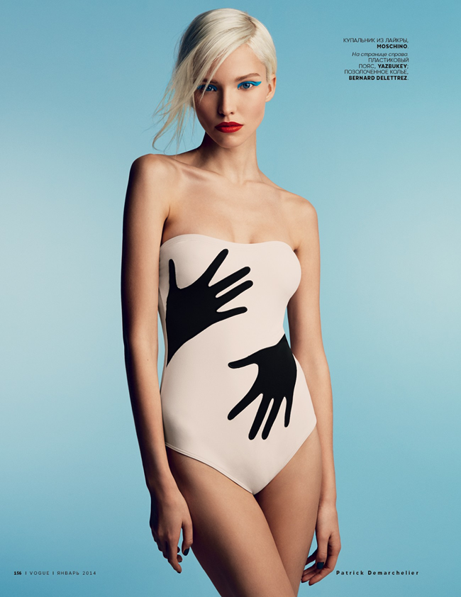 VOGUE RUSSIA- Sasha Luss in A Perfect Eye by Patrick Demarchelier. Olga Dunina, January 2014, www.imageamplified.com, Image Amplified (5)