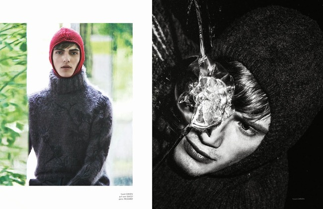 ODDA MAGAZINE- Justin Sterling, Guerrino Santulliana & Malcolm de Ruiter in Ecdysis by Emmanuel Girard, Simon Pylyser, Fall 2013, www.imageamplified.com, image Amplified