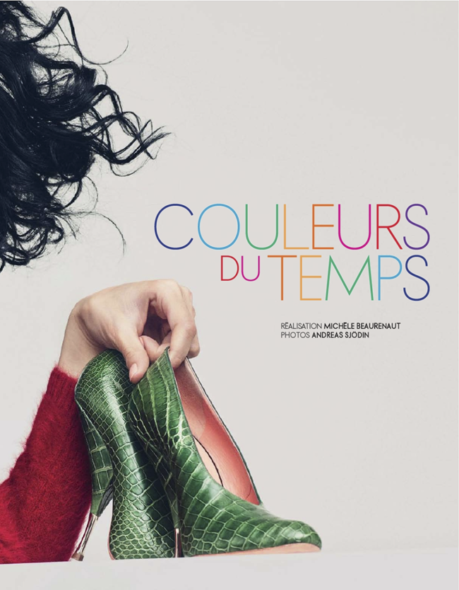 ELLE FRANCE- Fei Fei Sun in Couleurs Du Temps by Andreas Sjodin. Michele Beaurenaut, December 2013, www.imageamplified.com, Image amplified (2)