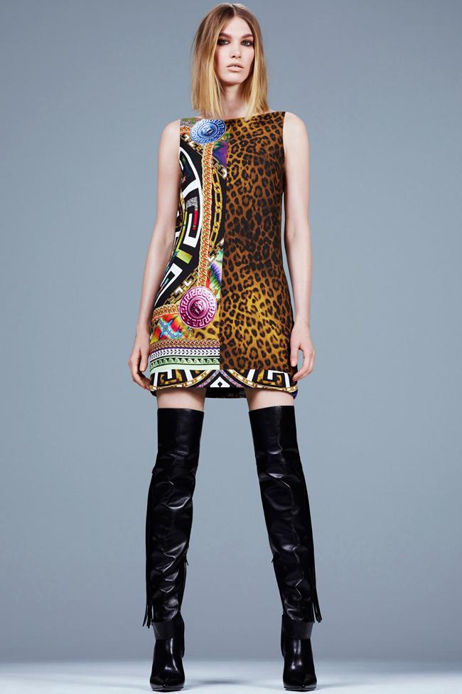 COLLECTION- Irina Nikolaeva for Versace Pre-Fall 2014. www.imageamplified.com, Image Amplified (8)