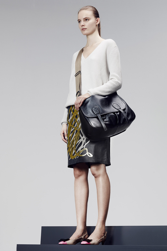 COLLECTION- Julia, Ileva, Tilda, Elisabeth, Josephine, Cindy, Marine, Idris, Magdalena & Lisanne for Bottega Veneta Pre-Fall 2014. www.imageamplified.com, Image Amplified (11)
