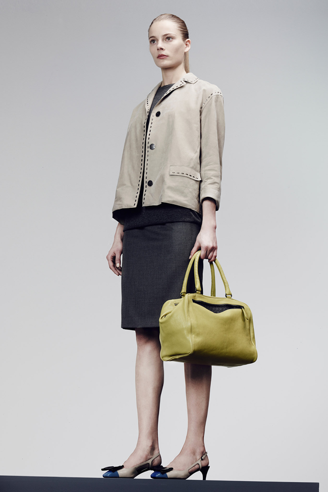 COLLECTION- Julia, Ileva, Tilda, Elisabeth, Josephine, Cindy, Marine, Idris, Magdalena & Lisanne for Bottega Veneta Pre-Fall 2014. www.imageamplified.com, Image Amplified (15)