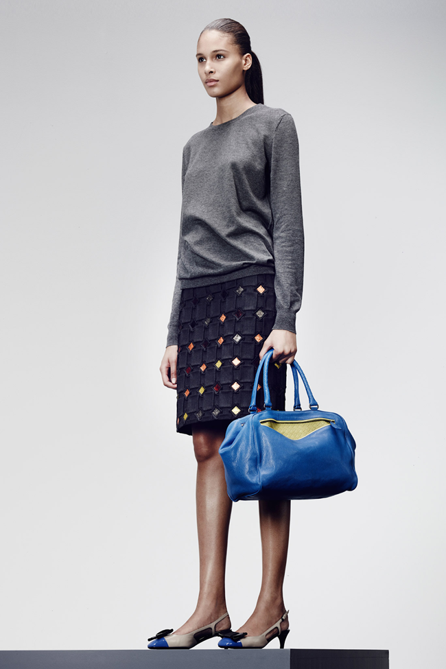 COLLECTION- Julia, Ileva, Tilda, Elisabeth, Josephine, Cindy, Marine, Idris, Magdalena & Lisanne for Bottega Veneta Pre-Fall 2014. www.imageamplified.com, Image Amplified (17)