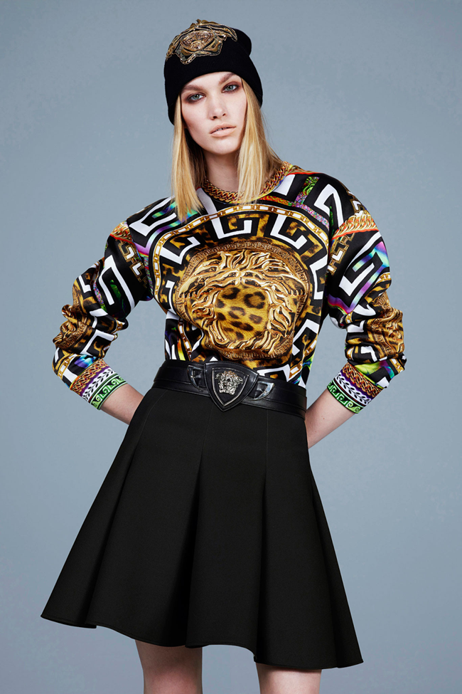COLLECTION- Irina Nikolaeva for Versace Pre-Fall 2014. www.imageamplified.com, Image Amplified (3)