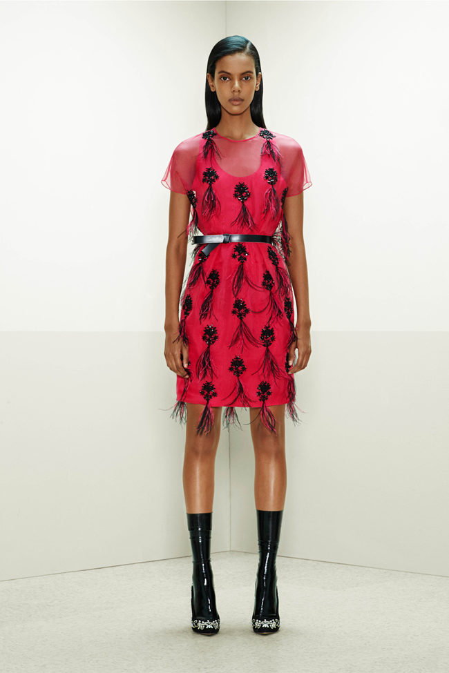 COLLECTION- Mijo Mihalijcic, Linn Arvidsson & Grace Mahary for Prabal Gurung Pre-Fall 2014. www.imageamplified.com, Image Amplified (28)