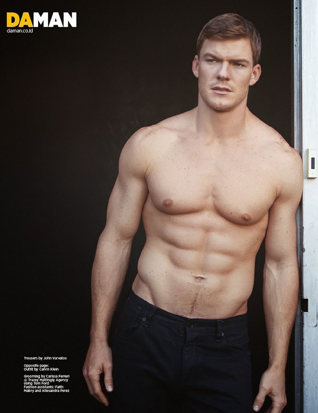 DAMAN MAGAZINE- Alan Ritchson in No More Nice Guy by Mitchell Nguyen McCormack. www.imageamplified.com, Image Amplified