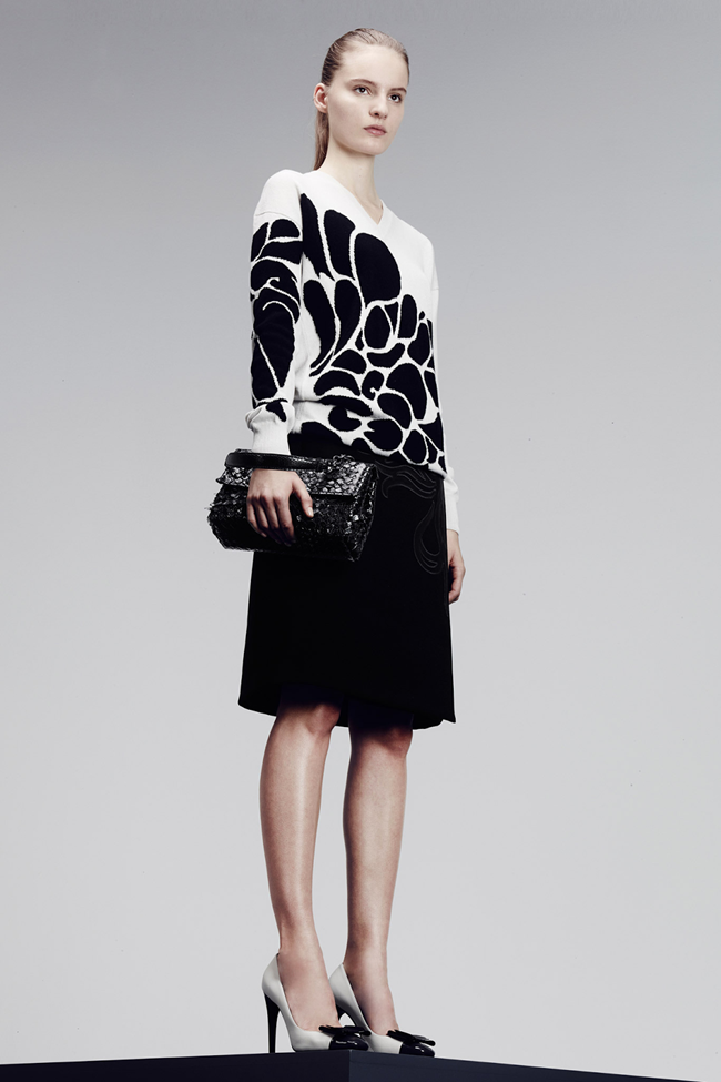 COLLECTION- Julia, Ileva, Tilda, Elisabeth, Josephine, Cindy, Marine, Idris, Magdalena & Lisanne for Bottega Veneta Pre-Fall 2014. www.imageamplified.com, Image Amplified (2)