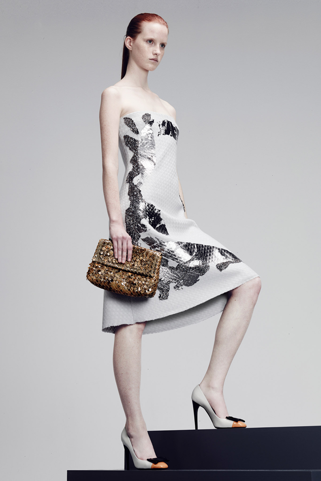 COLLECTION- Julia, Ileva, Tilda, Elisabeth, Josephine, Cindy, Marine, Idris, Magdalena & Lisanne for Bottega Veneta Pre-Fall 2014. www.imageamplified.com, Image Amplified (8)