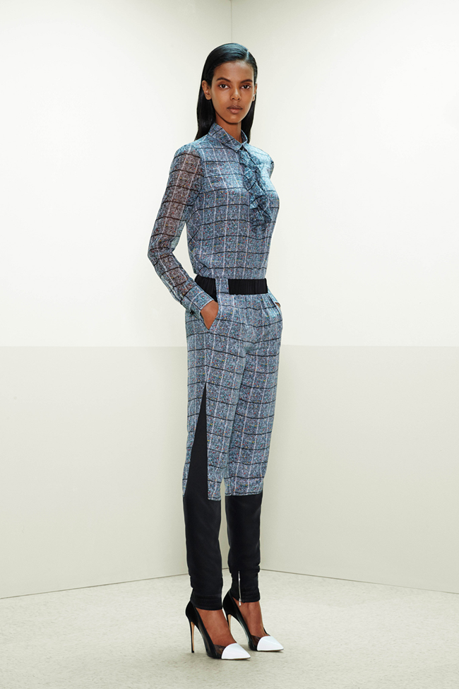 COLLECTION- Mijo Mihalijcic, Linn Arvidsson & Grace Mahary for Prabal Gurung Pre-Fall 2014. www.imageamplified.com, Image Amplified (13)