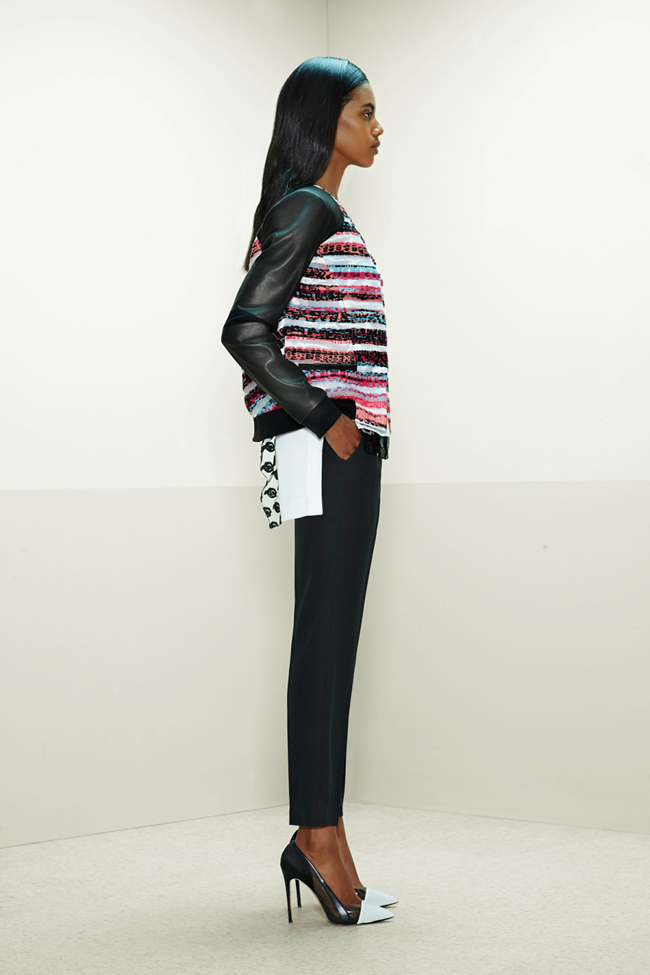 COLLECTION- Mijo Mihalijcic, Linn Arvidsson & Grace Mahary for Prabal Gurung Pre-Fall 2014. www.imageamplified.com, Image Amplified (15)