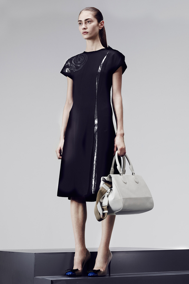 COLLECTION- Julia, Ileva, Tilda, Elisabeth, Josephine, Cindy, Marine, Idris, Magdalena & Lisanne for Bottega Veneta Pre-Fall 2014. www.imageamplified.com, Image Amplified (21)