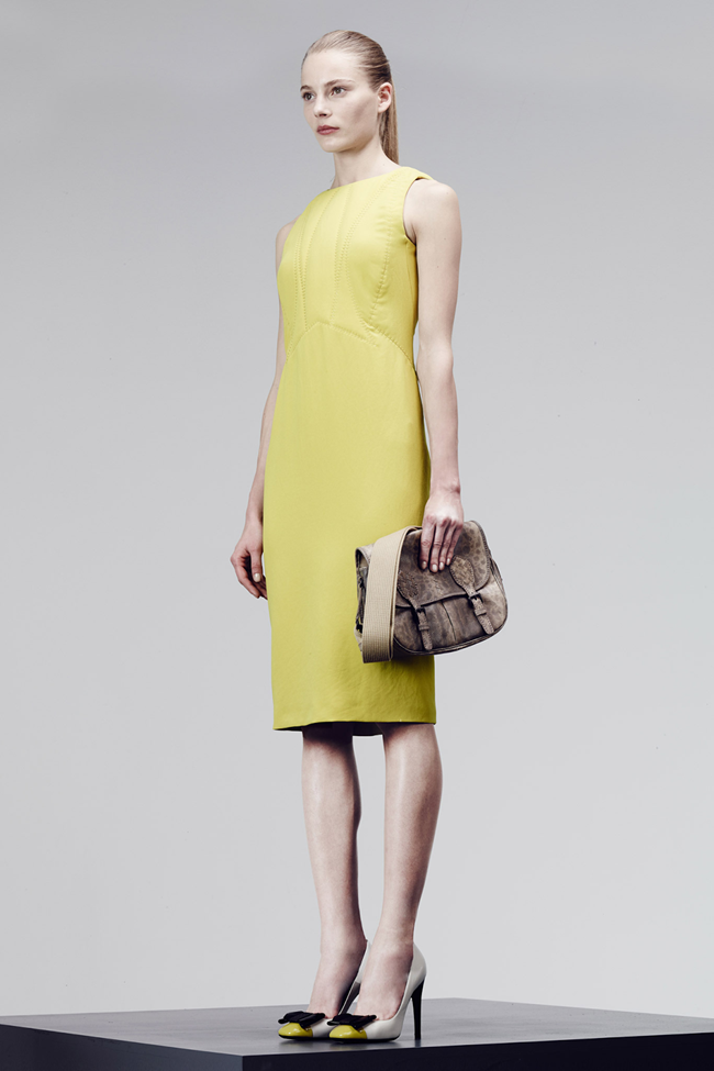 COLLECTION- Julia, Ileva, Tilda, Elisabeth, Josephine, Cindy, Marine, Idris, Magdalena & Lisanne for Bottega Veneta Pre-Fall 2014. www.imageamplified.com, Image Amplified (22)
