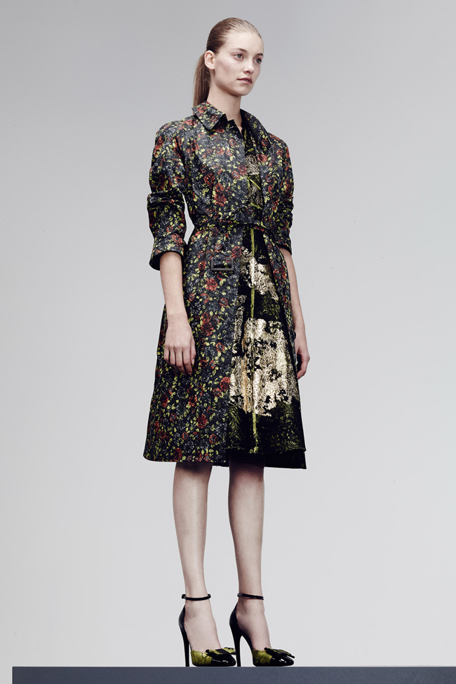 COLLECTION- Julia, Ileva, Tilda, Elisabeth, Josephine, Cindy, Marine, Idris, Magdalena & Lisanne for Bottega Veneta Pre-Fall 2014. www.imageamplified.com, Image Amplified (32)