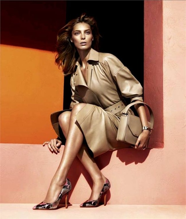CAMPAIGN- Daria Werbowy for Salvatore Ferragamo Spring 2014 by Mert & Marcus. www.imageamplified.com, Image amplified (4)