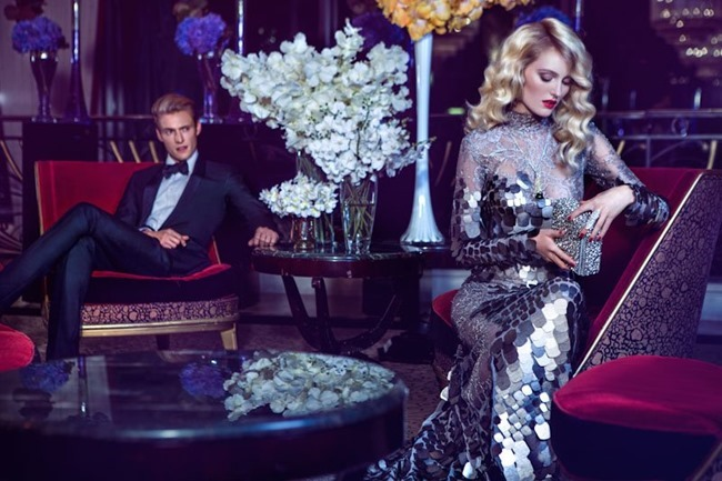 HARPER'S BAZAAR CHINA- Hannare Blaauboer, Claudia Anticevic & Victoria Tuas in High Society by Michelle Du Xuan. Patrycja Matysiak, Fall 2013, www.imageamplified.com, Image Amplified (2)
