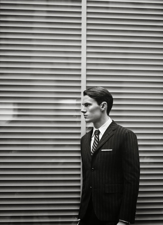 LOOKBOOK- Henry Barnacle & Philip Witts for Thom Browne Classic Fall 2014 by Ash Reynolds. www.imageamplified.com, Image Amplified
