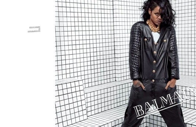 PREVIEW- Rihanna for Balmain Spring 2014 by Inez & Vinoodh. www.imageamplified.com, Image Amplified (2)