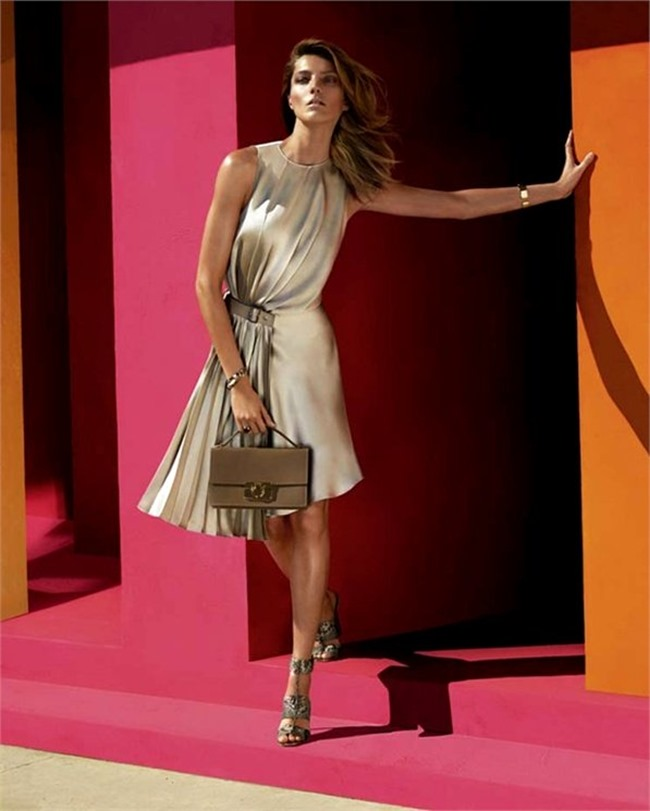 CAMPAIGN- Daria Werbowy for Salvatore Ferragamo Spring 2014 by Mert & Marcus. www.imageamplified.com, Image amplified (2)