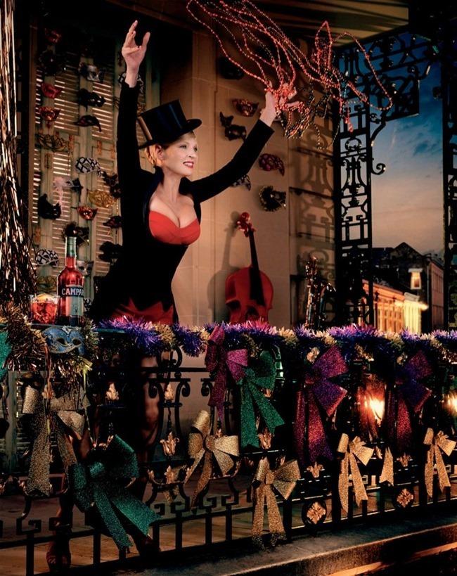FASHION PHOTOGRAPHY- Uma Thurman for Campari's 2014 Calendar. www.imageamplified.com, Image Amplified (3)