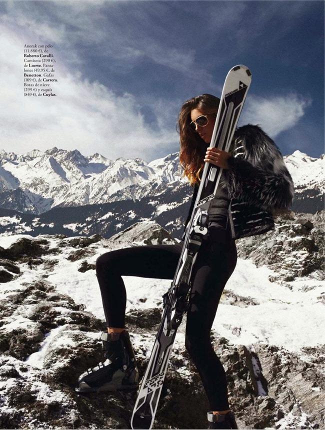 ELLE SPAIN Nadejda Savcova in Slalom De Estilo by Xavi Gordo. Inmaculada Jimenez, January 2014, www.imageamplified.com, Image Amplified (3)