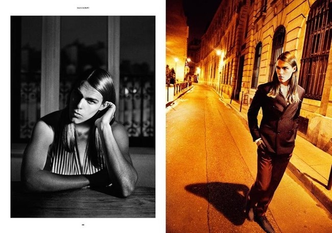 MANUSCRIPT MAGAZINE Travis Smith in Avenue Marceau by Paul Scala. Jonathan Ailwood, Fall 2013, www.imageamplified.com, Image Amplified (5)