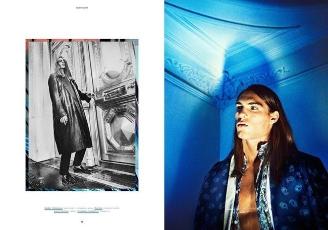 MANUSCRIPT MAGAZINE Travis Smith in Avenue Marceau by Paul Scala. Jonathan Ailwood, Fall 2013, www.imageamplified.com, Image Amplified (7)