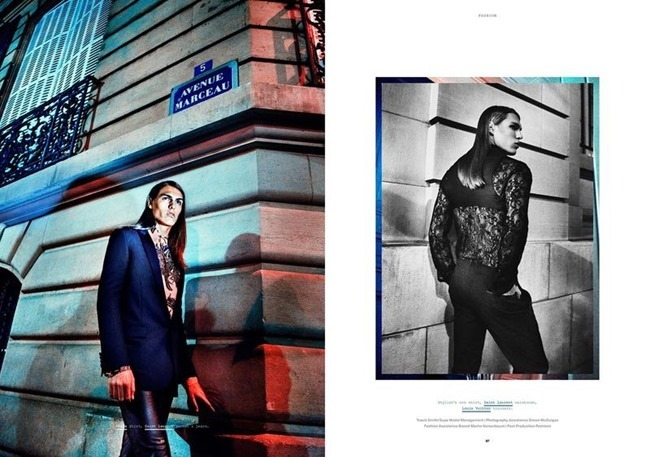 MANUSCRIPT MAGAZINE Travis Smith in Avenue Marceau by Paul Scala. Jonathan Ailwood, Fall 2013, www.imageamplified.com, Image Amplified (4)