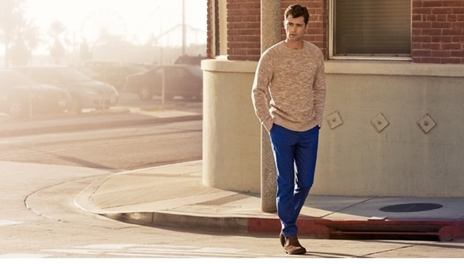 CAMPAIGN Sean O'Pry in Casual Sunday for H&M Spring 2014. www.imageamplified.com, Image Amplified (5)