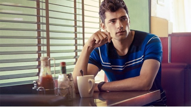 CAMPAIGN Sean O'Pry in Casual Sunday for H&M Spring 2014. www.imageamplified.com, Image Amplified (6)