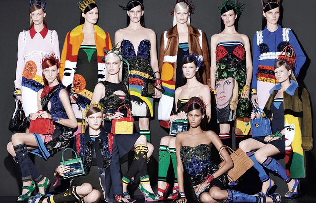 CAMPAIGN- Prada Spring 2014 by Steven Meisel. Olivier Rizzo, www.imageamplified.com, Image Amplified (5)