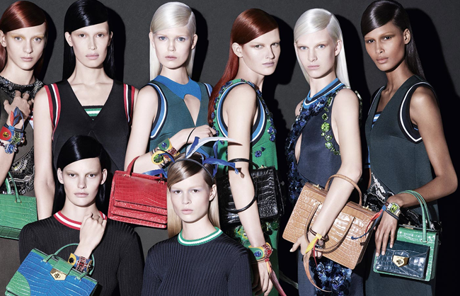 CAMPAIGN- Prada Spring 2014 by Steven Meisel. Olivier Rizzo, www.imageamplified.com, Image Amplified