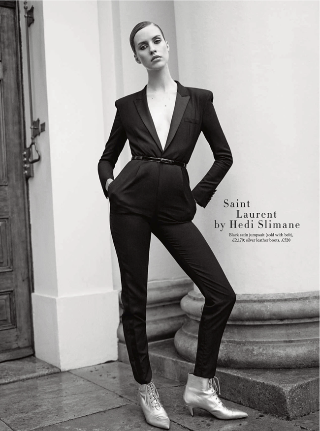 HARPER'S BAZAAR UK- Julia Frauche in The Collections by Tom Allen. Cathy Kasterine, February 2014, www.imageamplified.com, Image Amplified (2)